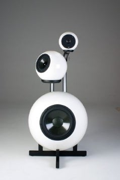 "Eyeball DMT-1000 Speakers Designed for ""Real World,"" Scaring Paranoid Schizophrenics"