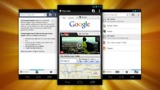 Most Popular Android Web Browser: Chrome