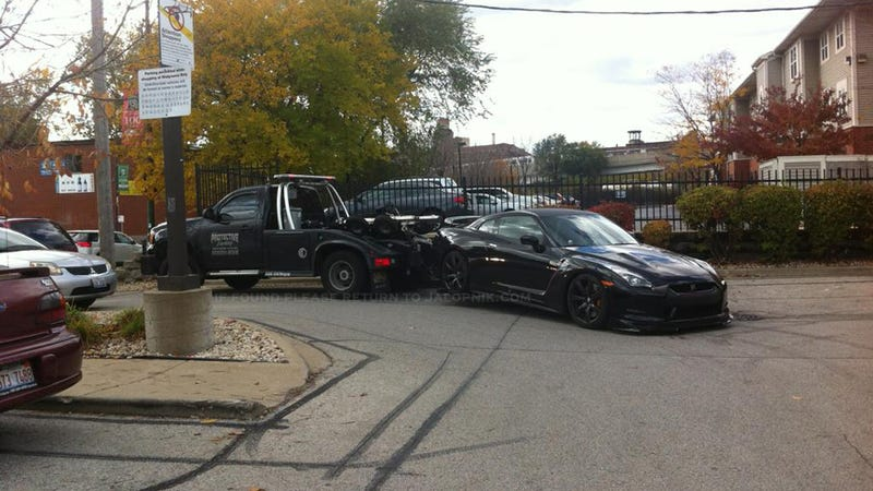 How Not To Tow A Nissan GT-R
