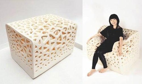 Soft Tofu Chair Molds to Your Softer Tofu Tush