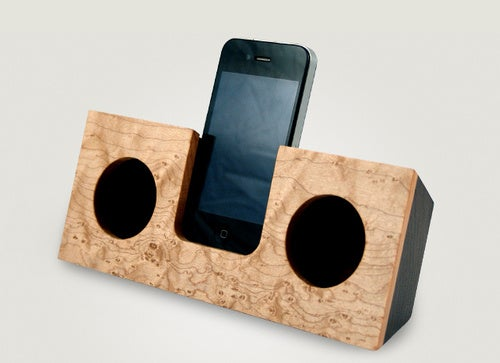 The Non-Electronic iPhone Dock