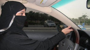 Saudi Women Take the Wheel in First Day of Protest Against Driving Ban