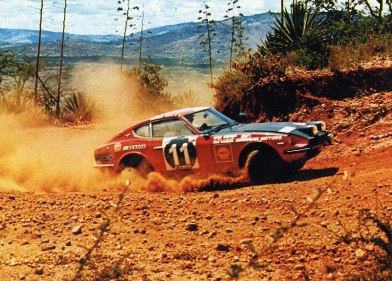 Nissan Volunteers Will Restore This Badass 240Z Rally Car