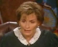 Judge Judy Is Wasted