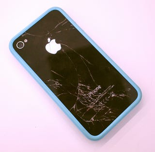 A Bumper Won't Keep Your Dropped iPhone 4 Safe