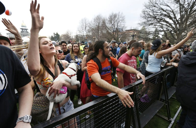 Blissful Scenes From Denver's First Fully Legal 420