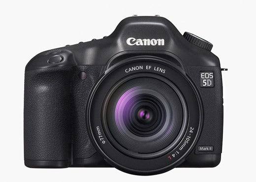 Canon EOS 5D Mark II Gets Spotted Bigfoot Style