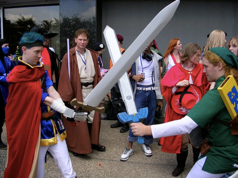 Video Game Cosplay Record Brutally Beaten
