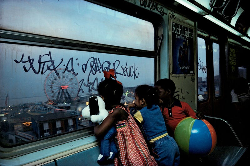 The NYC Subway Was Another World In 1980