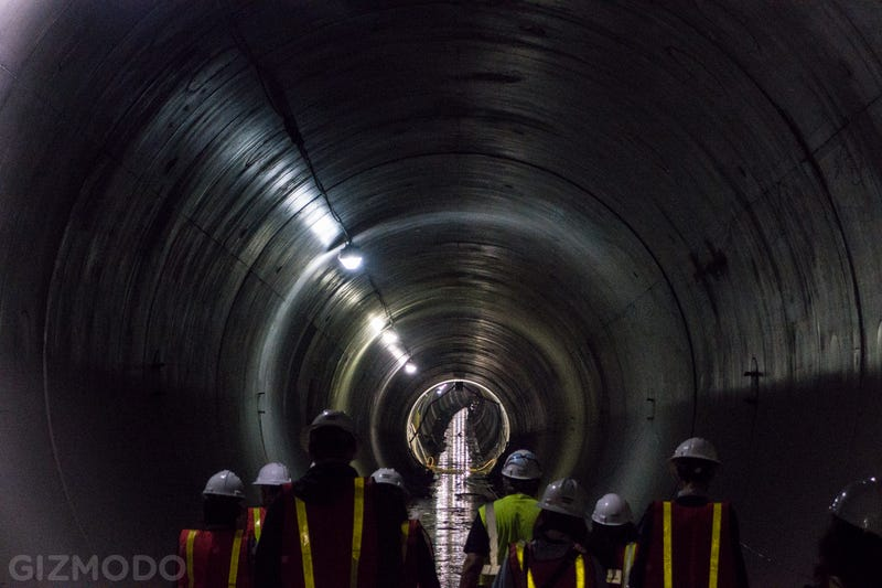 A Subterranean Stroll Through NYC's Newest Train Tunnel