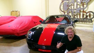 Sammy Hagar, rock hall of famer, future LaFerrari owner