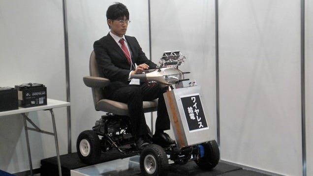 This Cart Proves That Electric Cars Could Be Powered By Radio Waves