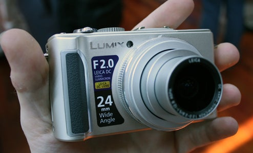 Panasonic Lumix LX3 High-End Point-and-Shoot Dumps Pixels to Stay Sensitive