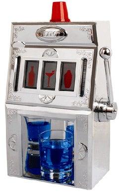 Slot Machine Drink Dispenser Wins Memory Loss