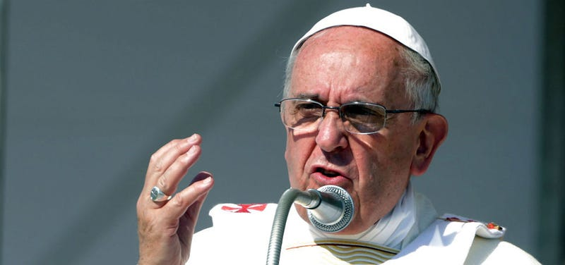Pope Francis 'Begs Forgiveness' From Catholic Sex Abuse Victims