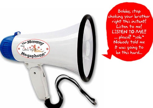 Mommy Megaphone Will Out You As an Ineffective Parent