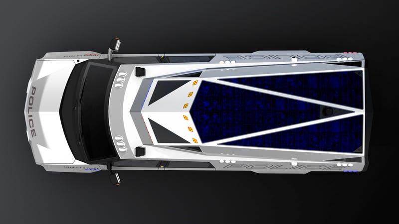 Carbon Motors Abandons Futuristic Police Car For Futuristic Police Van