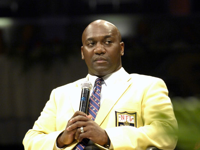 It Looks Like Thurman Thomas Is Watching The Bills-Jets Game