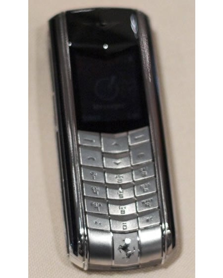 Vertu Ferrari 1947 Cellphone: If You Have to Ask the Price, You Can't Afford it