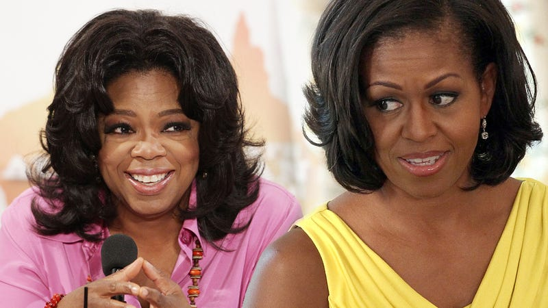 Great Moments From the Michelle Obama-Oprah Feud That Never Was