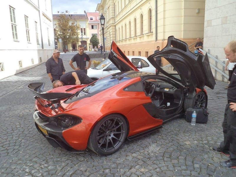 There's A McLaren P1 In Hungary Right Now!