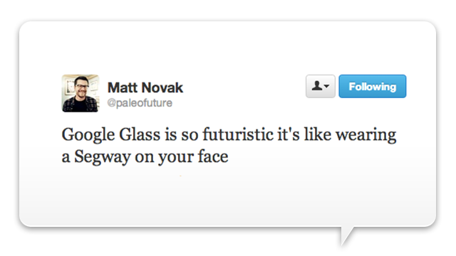 The Best Google Glasses Analogy Yet