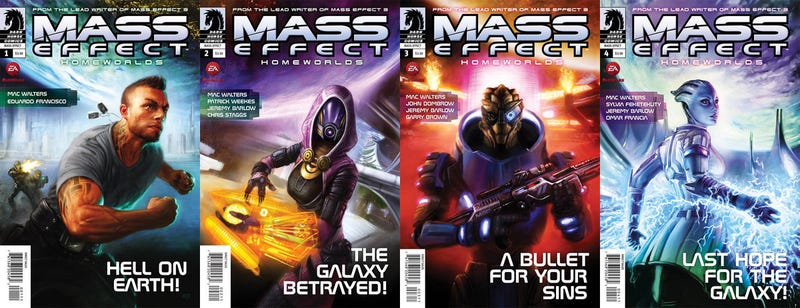 What You Missed in the Mass Effect Comic Books