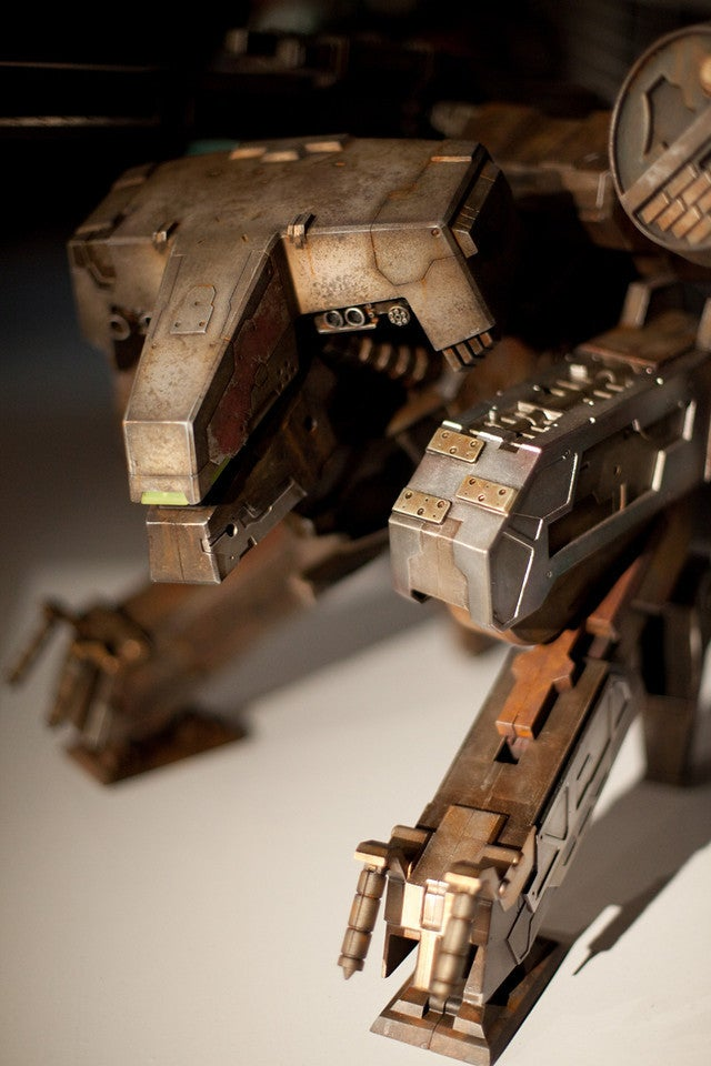 Metal Gear Rex Figure: Big, Shiny, Enormous