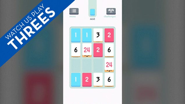 Threes Is The Addictive iPhone Game You Deserve