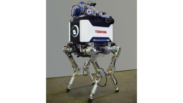 This Chunky Four-Legged Robot Scopes Out Danger So You Don't Have To