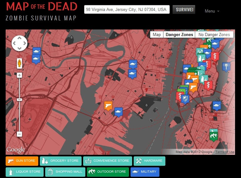 Outlive The Zombies With The Ultimate Zombie Survival Map