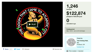 Kickstarter Project Canceled After Dude Spends All the Money