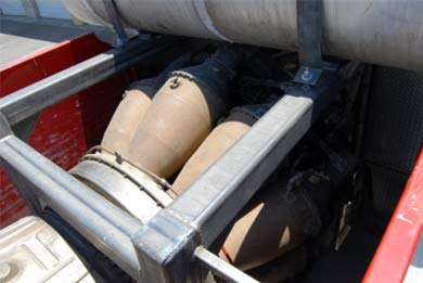 Firetruck Fuses With MiG Fighter Jet