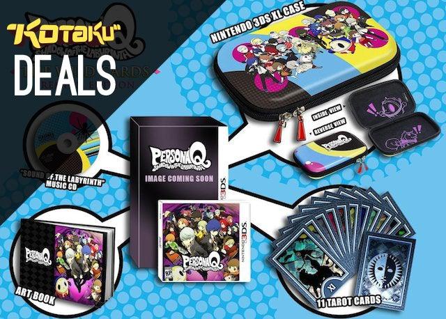 Deals: PSN Best of E3 Sale, Persona Q, Layton vs. Wright, Mario Kart 8
