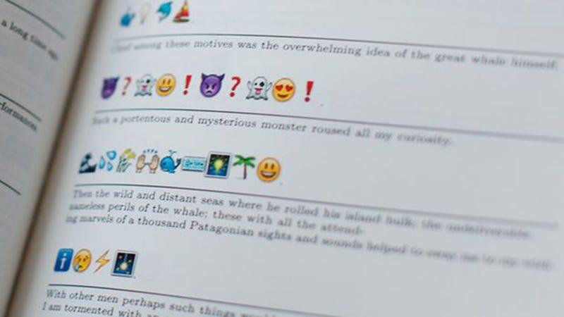 Introducing Emoji Dick, the All-Emoji Translation of Moby Dick