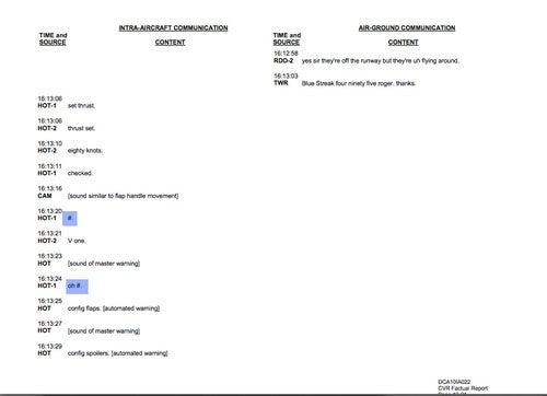 Transcript From Flight 2495: Part Two