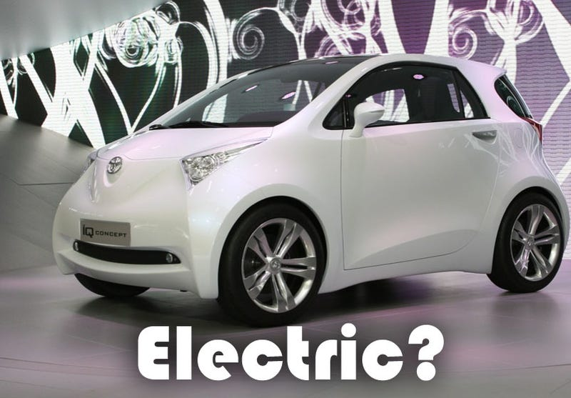 Toyota To Unveil Small Electric Car Concept At Detroit