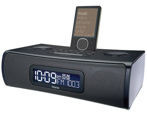 iHome ZN9 is the World's First Zune Alarm Clock Radio