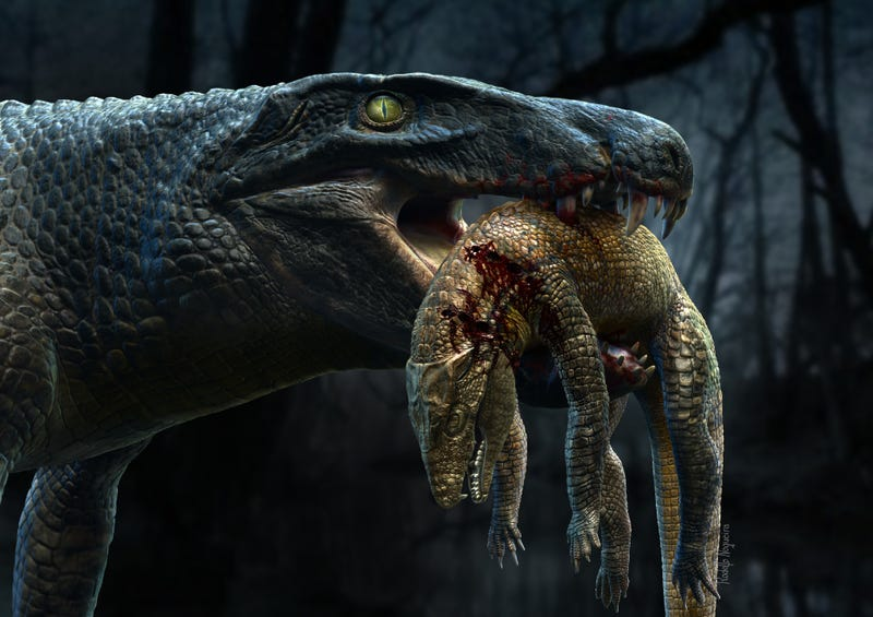 Ready For Some Croc-on-Croc Violence? Cretaceous Crocs Ate Each Other