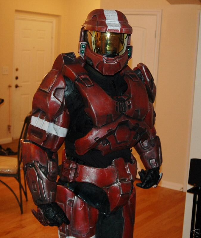 Perfect Spartan Master Chief Suit for Sale on eBay