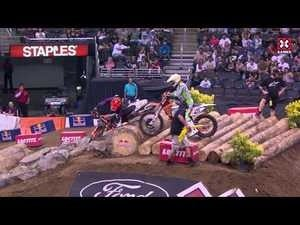 The highlight reel from this women's motocross event contains the saddest highlights of all time