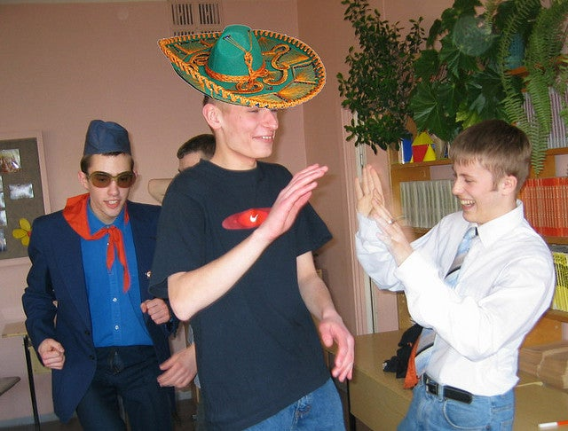 Hilarious Drunk Sombrero Prank Not Linked to Terror Plot