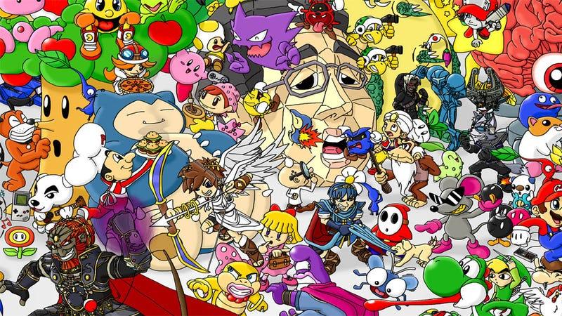 The Great Nintendo Family Portrait