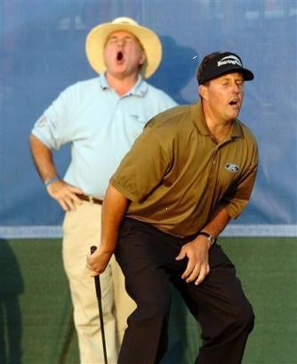Finally, We Know Why Phil Mickelson Didn't Choose Football Or Rugby As His Profession