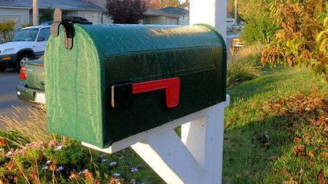Five ways to clean up your snail mail