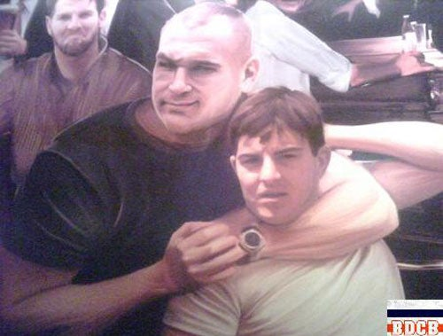Grossman-Urlacher Love Affair Immortalized On Bar Room Wall