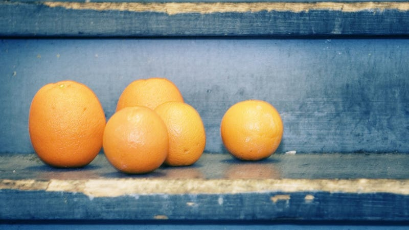 The most important thing you'll read today is an article about oranges