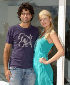 Adrian Grenier And Paris Hilton: Please Don't Let It Be On!