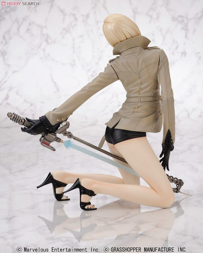 Sexed-Up No More Heroes 2 Figures Are Finally Here
