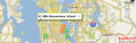 Find school info with Yahoo School Search